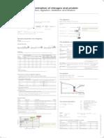 PO Nitrogen Protein Determination A0 En