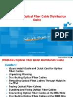 RRU-BBU Optical Fiber Cable Distribution Guide (GCUW)