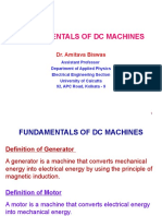 1 Fundamental of DC Machines