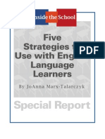 5 Strategies to Use With English Language Learners JMT