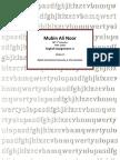 Is Pakistan the same as America? by Mubin Ali Noor
