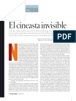 El Cineasta Invisible, Villanueva Chang
