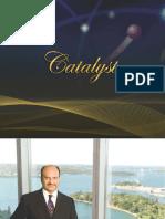 Catalyst Brochure - Chairman Zia Q Qureshi