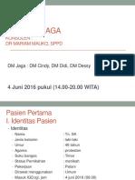 Laporan Jaga - 4 Juni 2016