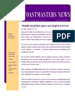 Toastmasters News - edición agosto 2010