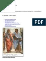 Platonismo y Cristianismo