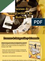 Procesos de Integracion y de Bolivia