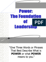 11.Power Foundation of Leadership
