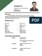 Resume Dad