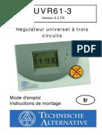 Manual Uvr61 v9.2 Fr