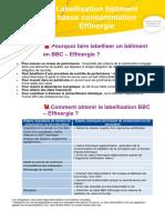 Labellisation Bbc Effinergie