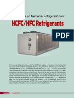 Advantages of Ammonia Refrigerant Over HCFCHFC Refrigerants