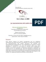 2000 Rodríguez Las representaciones del cambio educativo