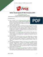 RMCH (2015). Reglamento en Materia de Contaminacion Hidrica. Complemento & Modificacion