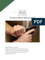 30 Days to Better Marksmanship