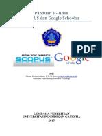 Panduan H Index SCOPUS Dan Google Schoolar1