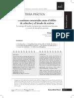 14.Ore Sosa - Problemas Concursales Entre El Delito de Cohecho y Lavado de Activos