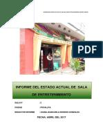 Informe Del Estado Actual de Sala de Juegos Tragamonedas Money Money
