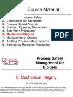 06 Biofuels Mechanical Integrity