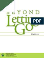 Beyond Letting Go Workbook