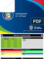 Coaching Pack 12-16 Years