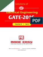 EE GATE Session-8 Set-2 521