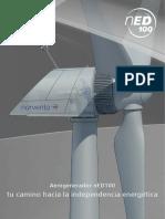Aerogenerador NED100 (Esp)
