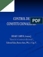 Control de Constitucionalidad_por Bidart Campos