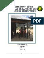 Comunidad Nativa de Shimapango