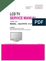 Manual de Servico Lcd Tv LG 42LH70YD SE Chassis LJ91D