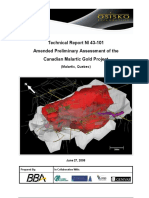 Technical Report NI 43 101 Canadian Malartic Gold Project