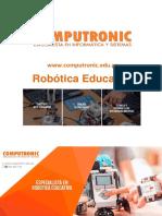 Brochure Robotica Docente Computronic