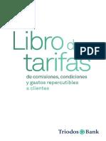 Libro de Tarifas en Vigor 2011