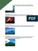 20 Volcanes de Guatemala