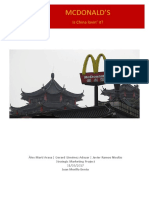 Strategic Marketing Project - McDonalds by Gerard Giménez, Àlex Martí and Javier Ramos