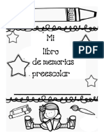 Libro de Memorias Preescolar