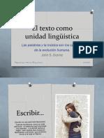 2 El Texto Como Unidad Lingüística