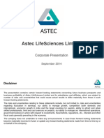 Astec LifeSciences - Corporate Profile_Sep2014