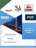 IV. Bases Puentes de Papel - Huaraz 2017