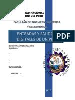 Entradas y Salidas Analogicas y Digitale