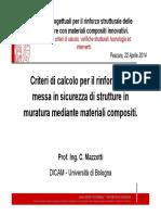 Prof. Mazzotti Corso 22 Aprile
