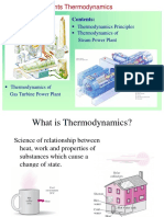 Ch1-1 Power Plants - Thermodynamics