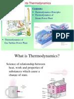 Ch1-1 Power Plants - Thermodynamics