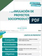 FORMULACIÓN DE PROYECTOS SOCIOPRODUCTIVOS (INCES)