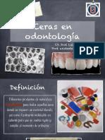 Ceras Dentales 2017