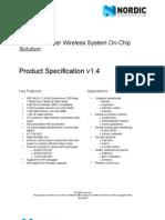 nRF24LE1 Product Spec v1 4
