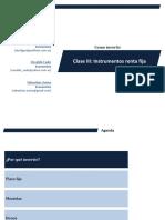 Inversion capitulo 2 - Instrumentos de Renta Fija