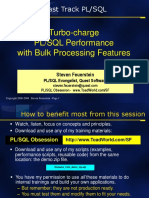 Turbo-charge PLSQL With Bulk Processing