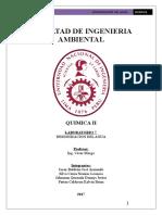 Laboratorio 7 Quimica II