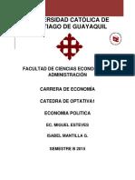 Economia Politica_historia y Evolucion
